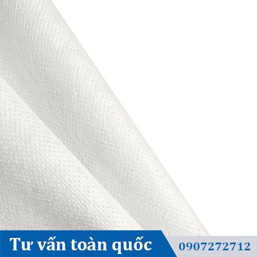 Vải làm khăn ướt dạng lưới
