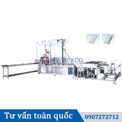 Máy sản xuất túi tại Amimexco
