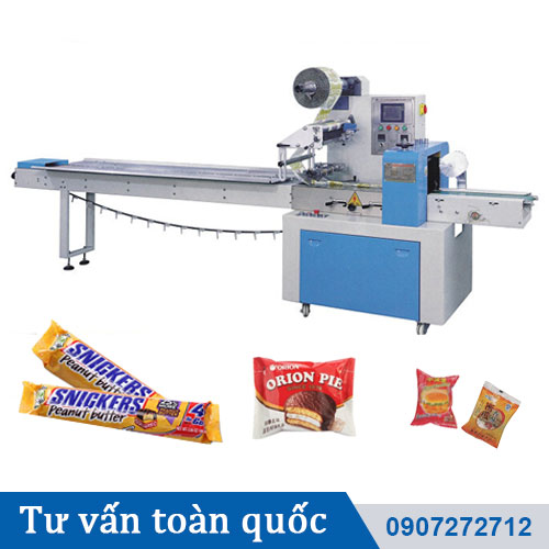 Máy đóng gói bánh kẹoo