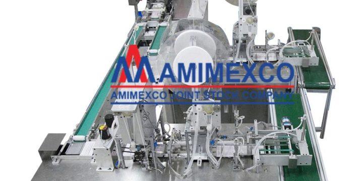 Ưu điểm nổi bật máy làm khẩu trang 2019 Amimexco cung cấp
