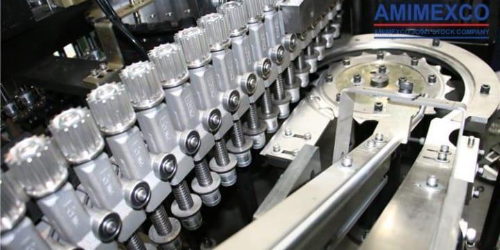 Bán máy thổi chai nhựa cũ giá rẻ và bảo hành chu đáo